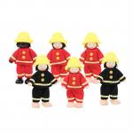 Bigjigs - Poppenhuispoppen - Brandweer