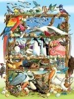 Legpuzzel - 400 - Wereld vol vogels
