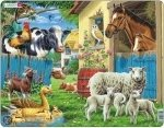 Legpuzzel boerderij - Larsen