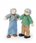 Poppenhuispoppen - Opa&Oma - Le Toy Van
