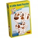 6 Little Hand puzzels animals - English - Haba