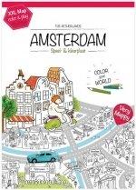 XXL kleur en speelplaat van Amsterdam