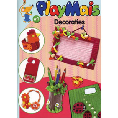 PlayMais boekje Decoraties