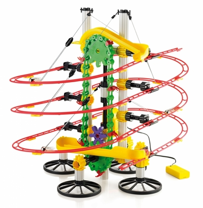 Knikkerbaan Quercetti - Skyrail Roller Coaster Motor