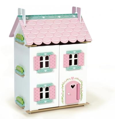 Houten poppenhuis Sweetheart cottage - Le Toy van
