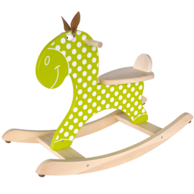 Rocking horse green - Scratch