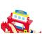 Houten treinset met verdiepingen - Legler