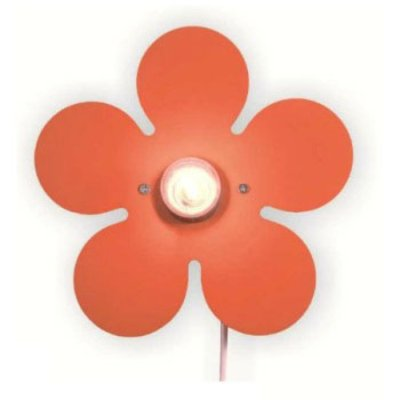Wandlamp - Happy Flower Oranje