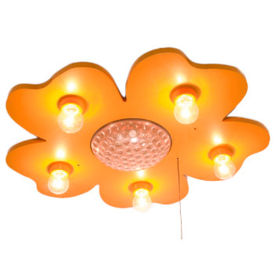 Plafondlamp - Happy Flower Maisgeel