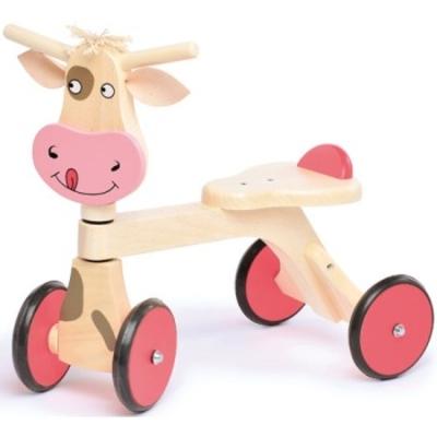 Loopfiets koe - Jasper Toys