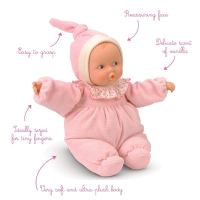 Corolle - Baby roze gestreept