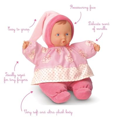 Corolle - Baby Fleur roze - 28cm