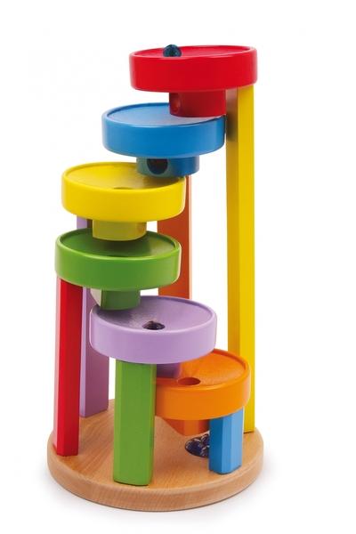 Knikkerbaan kleurtrap - Legler