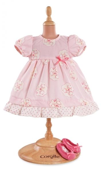 Corolle - Roze jurk met schoentjes - 42 cm