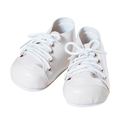 Toddler Time Baby Shoes - Tennis White