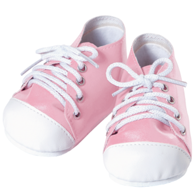 Toddler Time Baby Shoes - Tennis Pink