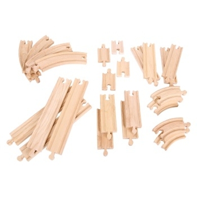 Set rails - 24 stuks - Bigjigs
