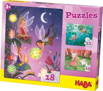 Feeën puzzels