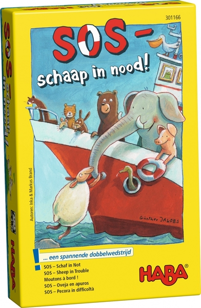SOS - Schaap in nood!