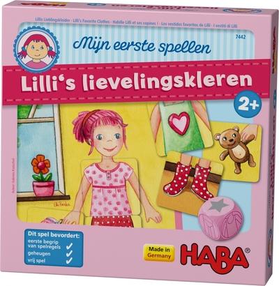 Lilli's lievelingskleren – Mijn eerste spellen