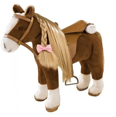 Bruin paard met vlecht - Götz