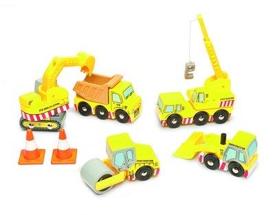 Bouwplaats set - Le toy van