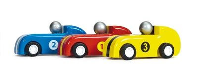 Set race auto's - Le toy van