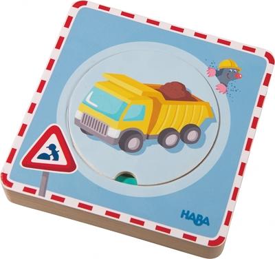 Haba - Houten puzzel - Op de boerderij
