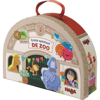 Haba - Grote speelset - De dierentuin