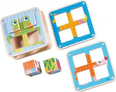 Haba - Blokpuzzel tuindieren
