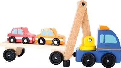 Transporter met aanhangwagen - Legler