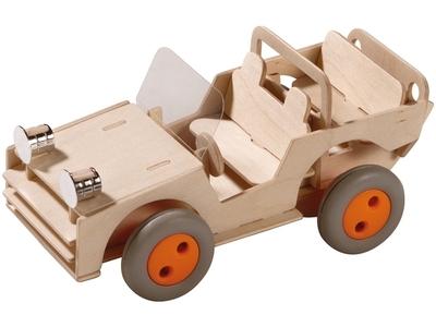 Bouwpakket terreinwagen - Haba