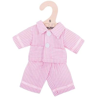 Bigjigs - 25cm - Roze pyjama