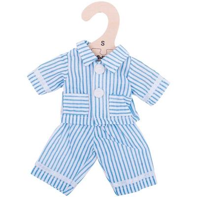 Bigjigs - 25cm - Blauwe pyjama