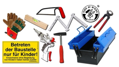 Kids at Work - 9-delige Toolbox
