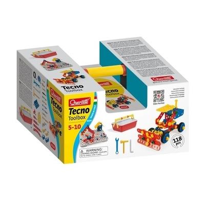 Quercetti - Tecno toolbox - 118 onderdelen