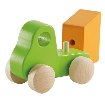 Hape - Dump truck green