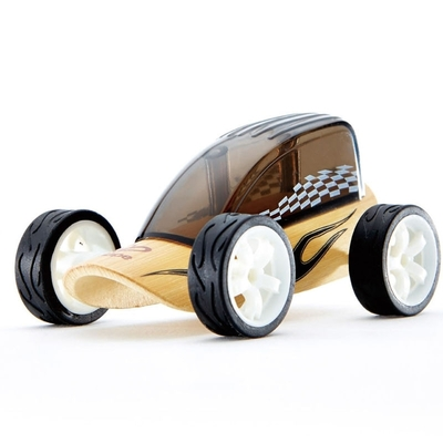 Bamboe racewagen - Hape