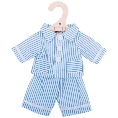 Bigjigs - 30cm - Blauwe pyjama