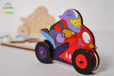 UGears Kleurenmodel - Racemotor