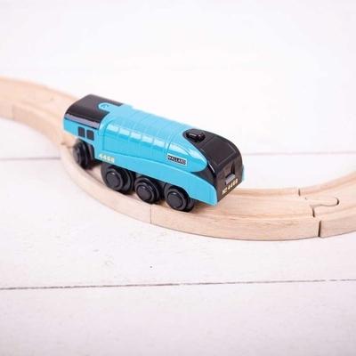 Locomotief met motor - Bigjigs