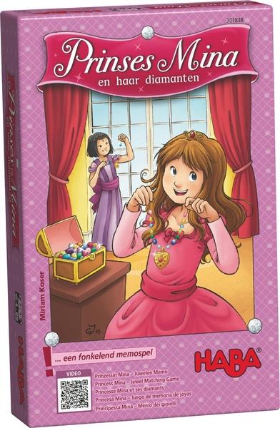 Memory spel met Prinses Mina