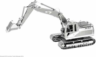 Metal Earth Cat - Excavator
