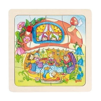 Paddenstoel puzzels - Goki