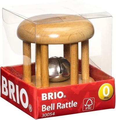 Baby rammelaar - Beige - Brio