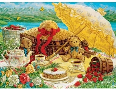 Legpuzzel - 500 - Teddy bear