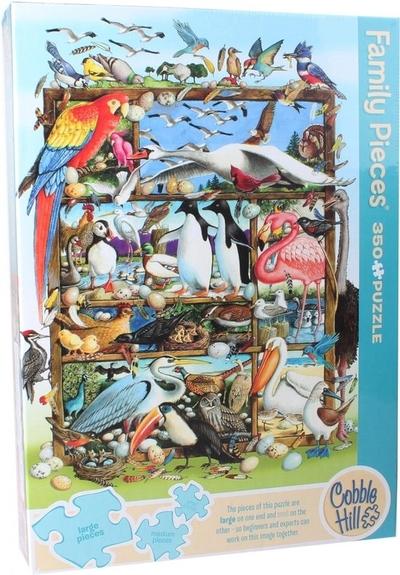 Legpuzzel -350 - Wereld vol vogels