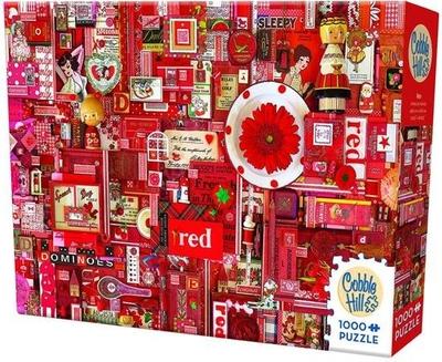 Legpuzzel - 1000 - Red