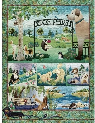 Legpuzzel - 500 - Dog park