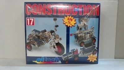 Eitech Metaal Constructie Motor met zijspan